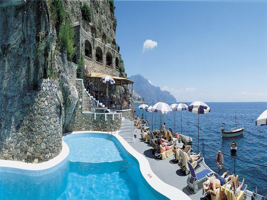 Hotel santa caterina amalfi italy amalfi and santa for Great small hotels italy