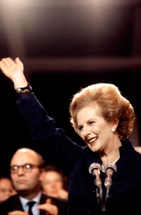 Margaret Thatcher. Certainly an iron lady. She was not afraid to show her gender. To define her as a Femenist is to negate her.