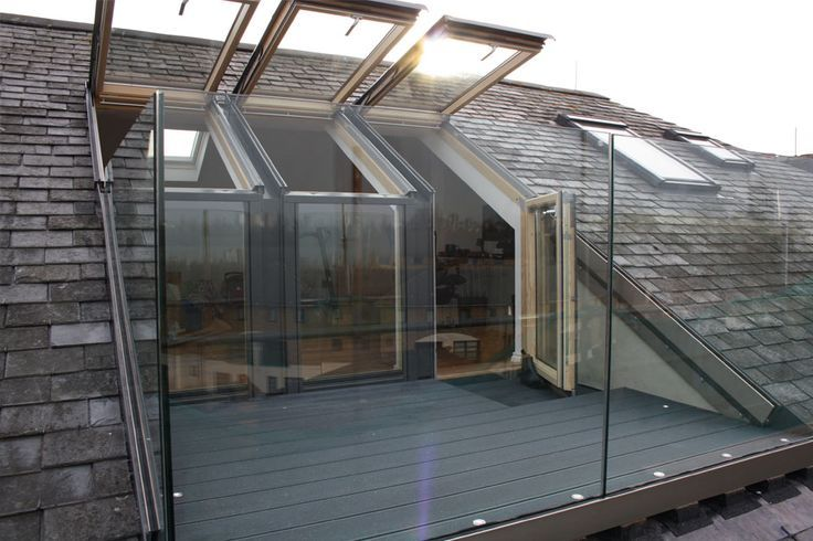 Attic balcony design ideas for all vasistas pinterest for Loft terrasse