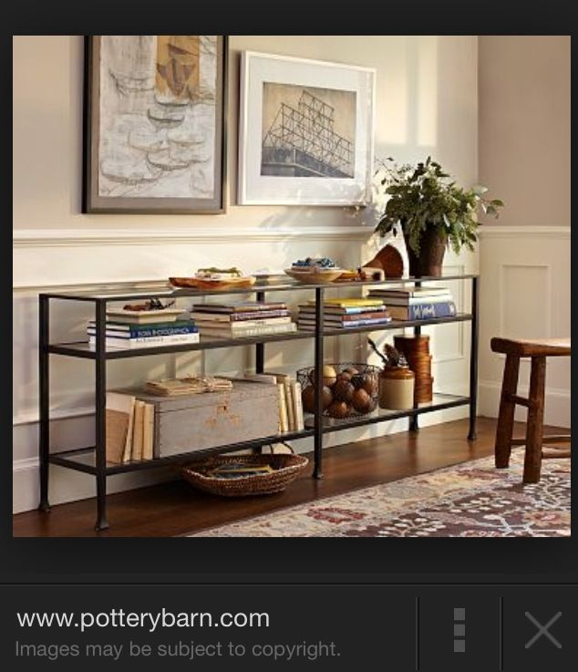 Accessorizing Galore Long Console Metal Console Table Console Table