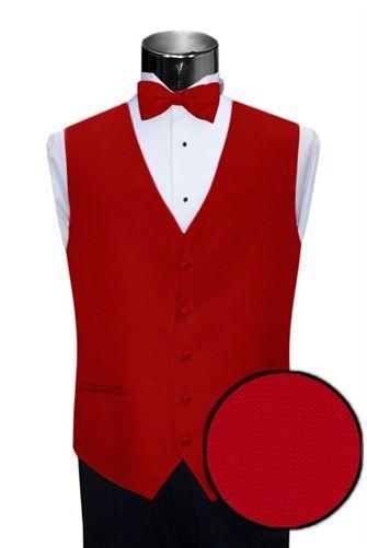 Mens PIQUE tuxedo vest and bowtie  ALL SIZES