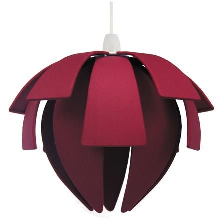 Pacific Lighting Polysilk 3 Tier Exploding Ball Pendant Shade Raspberry With Images
