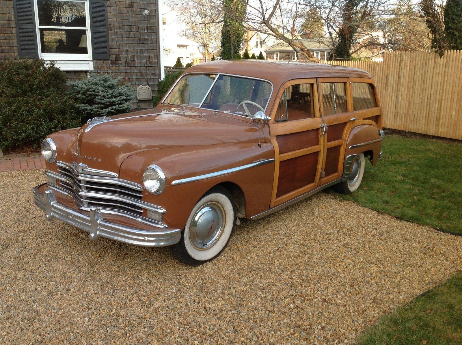 '49 Plymouth Woody Wagon Woody wagon, Wagon, Plymouth