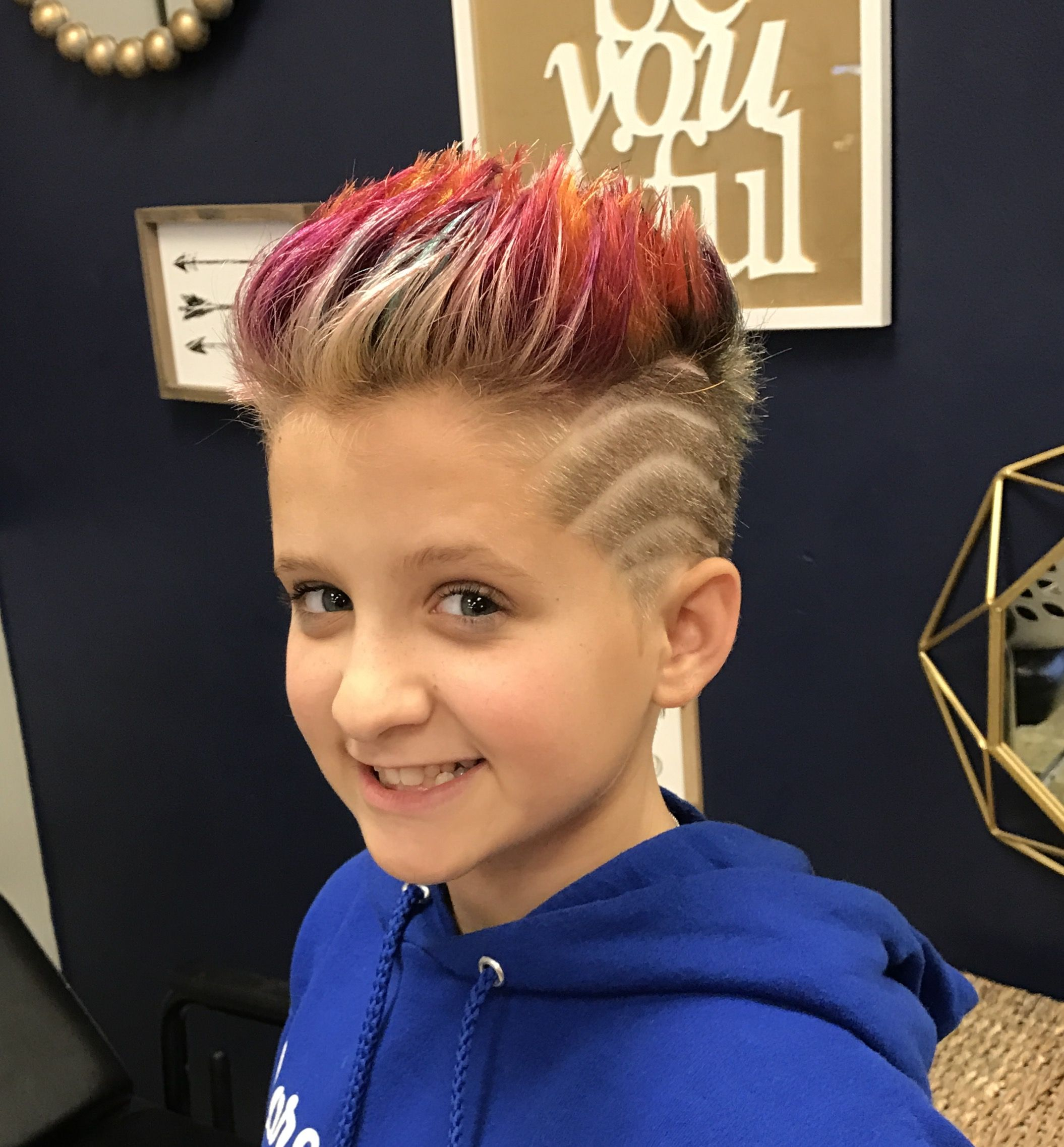 best pre-chemo haircut ever! | kids in 2019 | hair cuts, summer