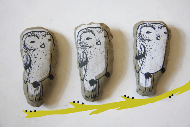 owls from Kanelikauppa. i'm in love.