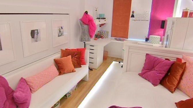 Chambre de jeune fille et atelier de couture Chambre louloutte