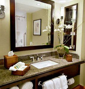 Spa Looking Small Bathrooms  You Me And Our Spoo Make Three Simple Feng Shui Small Bathroom Inspiration