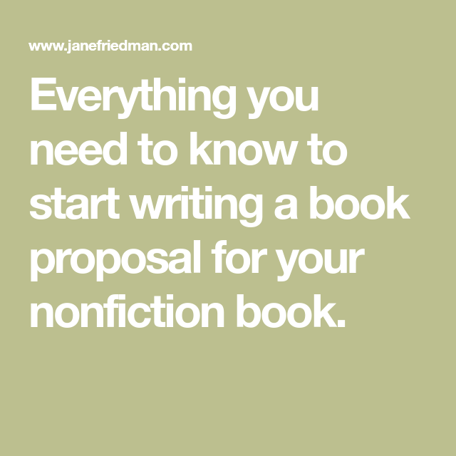Everything You Need To Know To Start Writing A Book