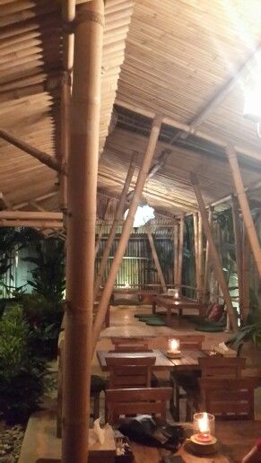 bamboo cafe and resto in bali