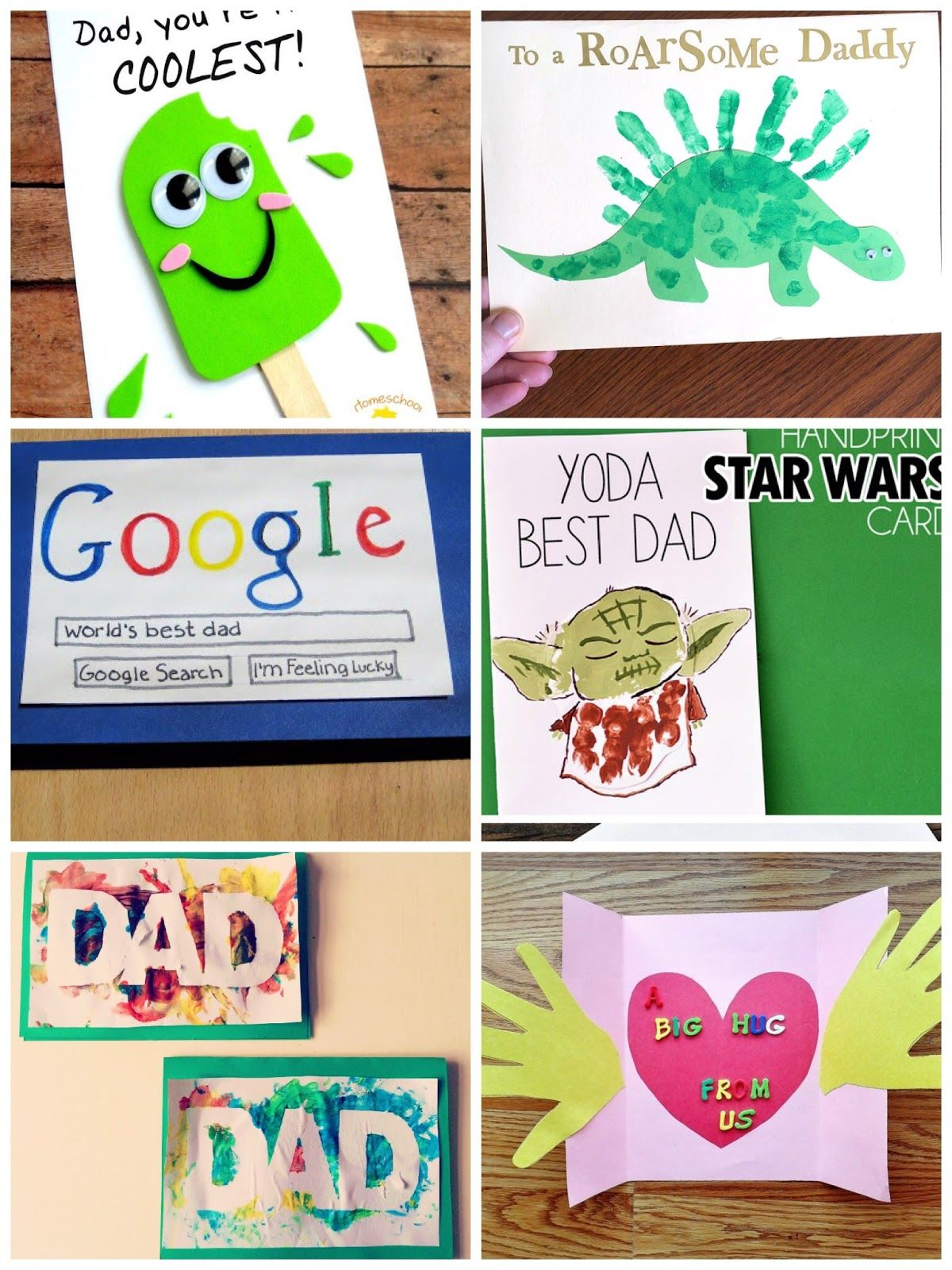 40 Homemade Fathers Day Cards (With images) | Diy father's day ...