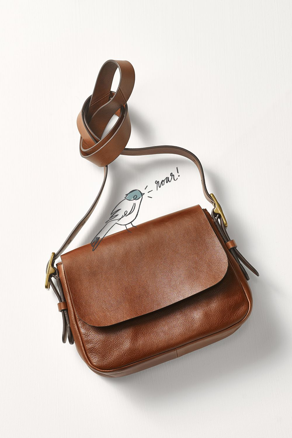 A Leather Crossbody You And Your Mom