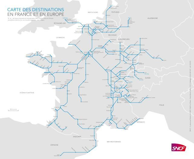 How To Plan Your Trip Through France On Tgv In 2020 Train Route