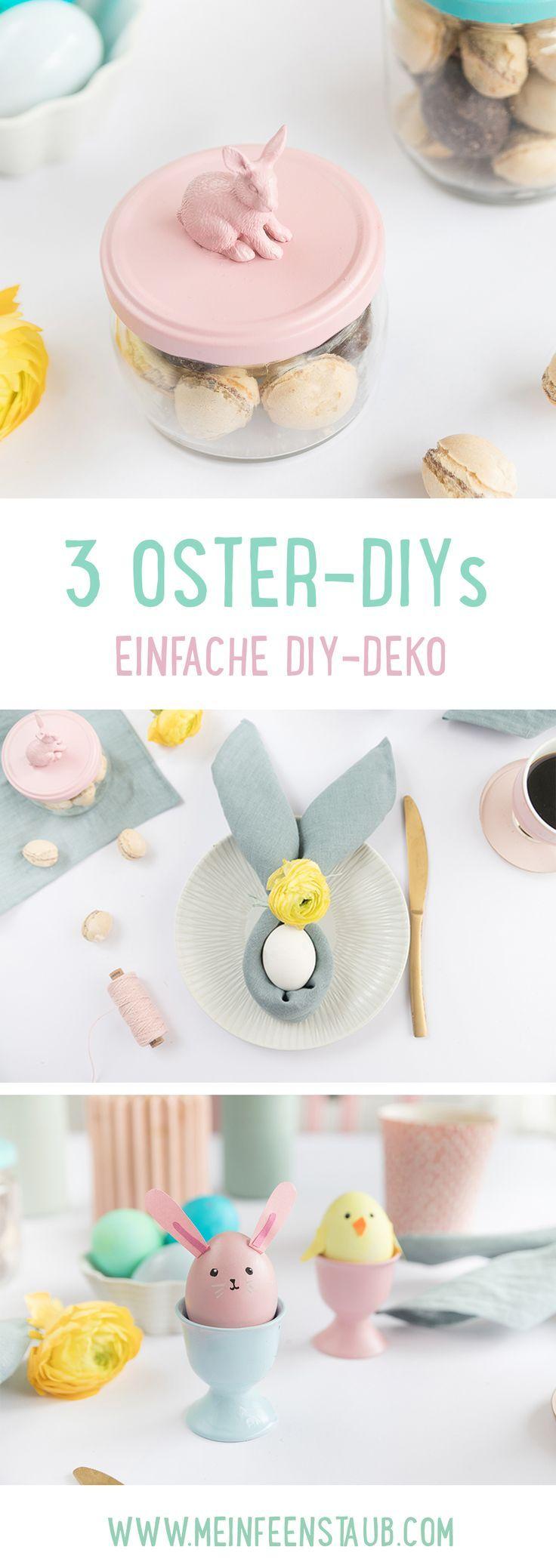 3 DIY-Ideen für Ostern | mein feenstaub