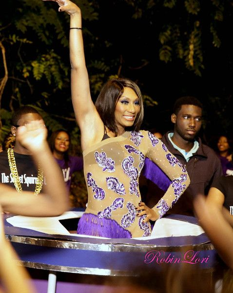 [Pix] @TowandaBraxton's 'School Daze' 40th B-Day Party Brings Out Tamar, Toni + A Full Fledge Marching Band!