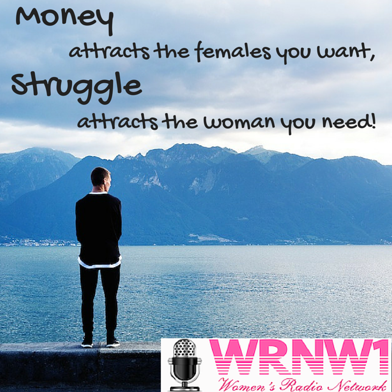 money attracts the female you want