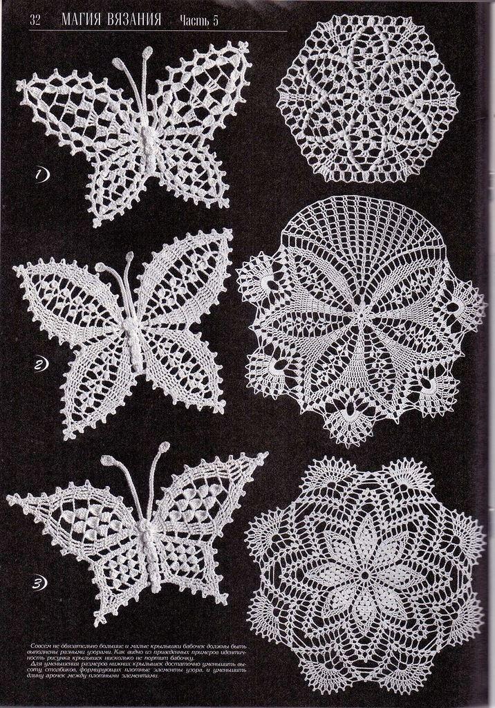 skenovĀnĪ0050.jpg | Häkeln schmetterling, Schmetterlinge und Häkeln