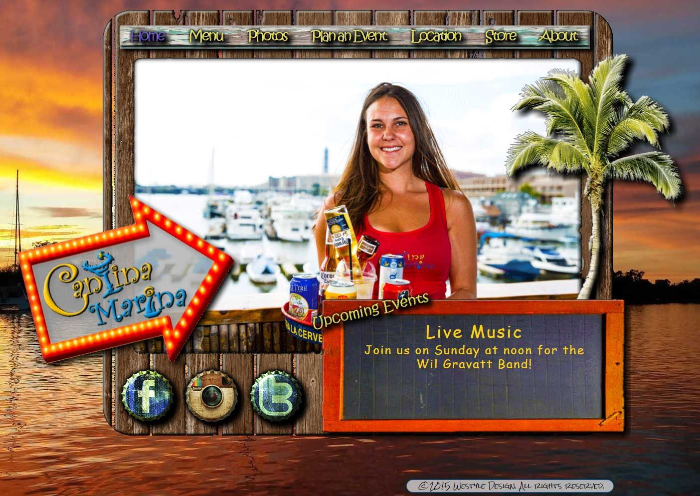 """Happy Hour at Cantina Marina http://www.sandandsteelfitness.com/happy-hour-cantina-marina/ #Events, #HappyHour #Events [vc_row type=""""in_container"""" scene_position=""""center"""" text_color=""""dark"""" text_align=""""left"""" overlay_strength=""""0.3""""][vc_column column_padding=""""no-extra-padding"""" column_padding_position=""""all"""" background_color_opacity=""""1"""" background_hover_color_opacity=""""1"""" width=""""1/1""""][vc_column_text] Happy Hour from http://www.sandandsteelfitness.com/happy-hour-cantina-marina"""