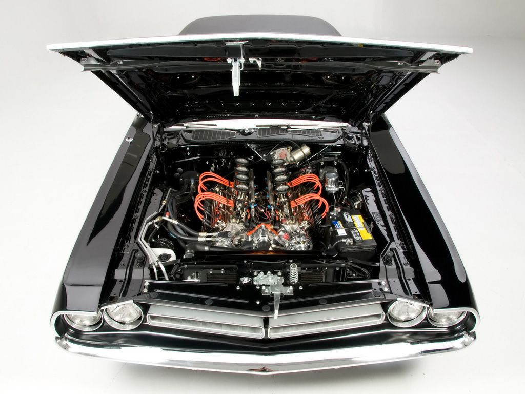 Muscle Car Engines | The Hottest Muscle Cars In the World: The ...