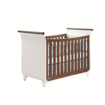 tulip piccolo sleigh crib with toddler gate used baby