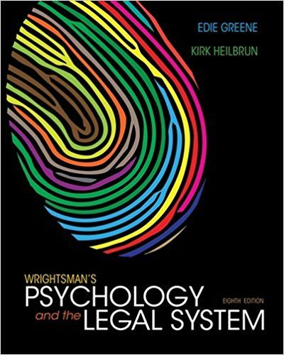 Wrightsmans psychology and the legal system 8th edition ebook pdf wrightsmans psychology and the legal system 8th edition ebook pdf isbn 13 fandeluxe Image collections
