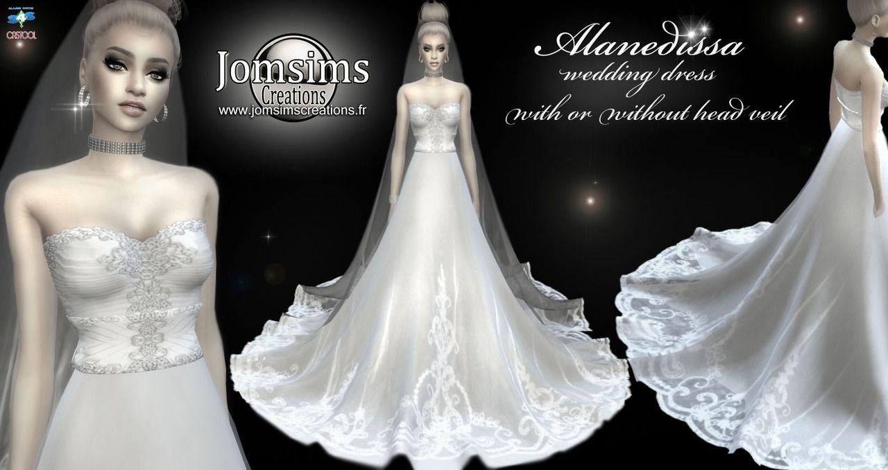 Pin on TS20 Clothing   Female   Wedding dress