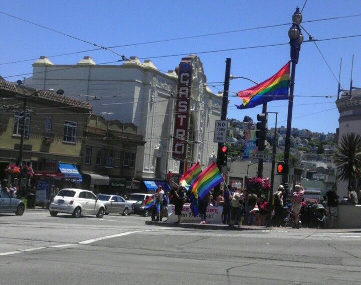 Castro is buzzing with the Supreme Court decision today!