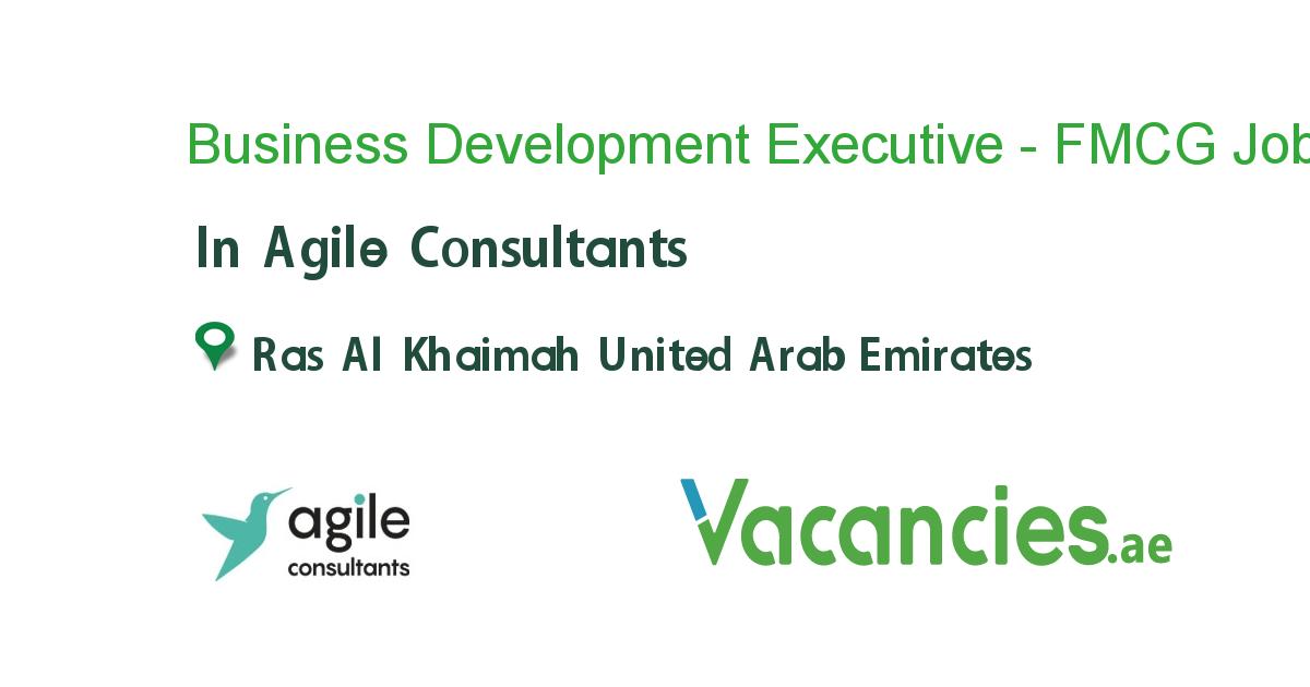 Business Development Executive FMCG (International Sales