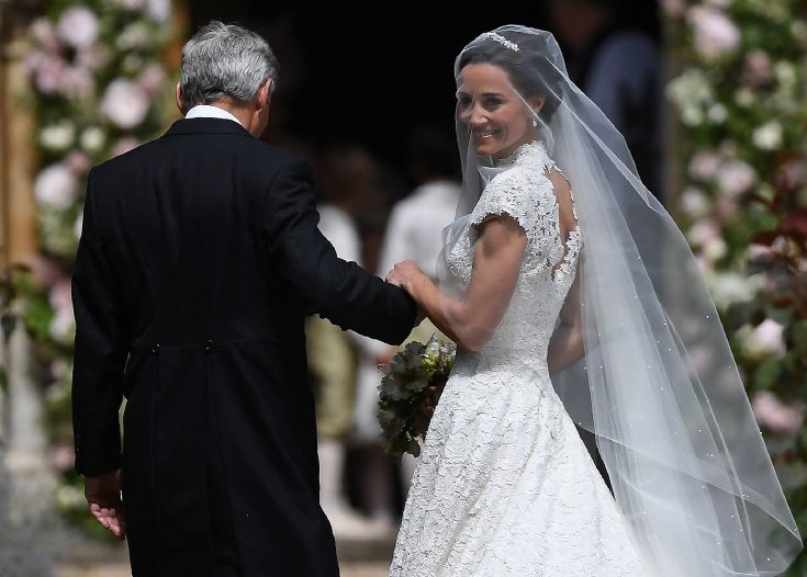 Pippa Middleton Marries James Matthews - 05-20-17