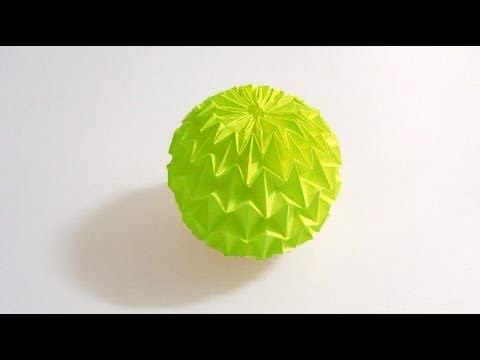 Magic Ball Origami
