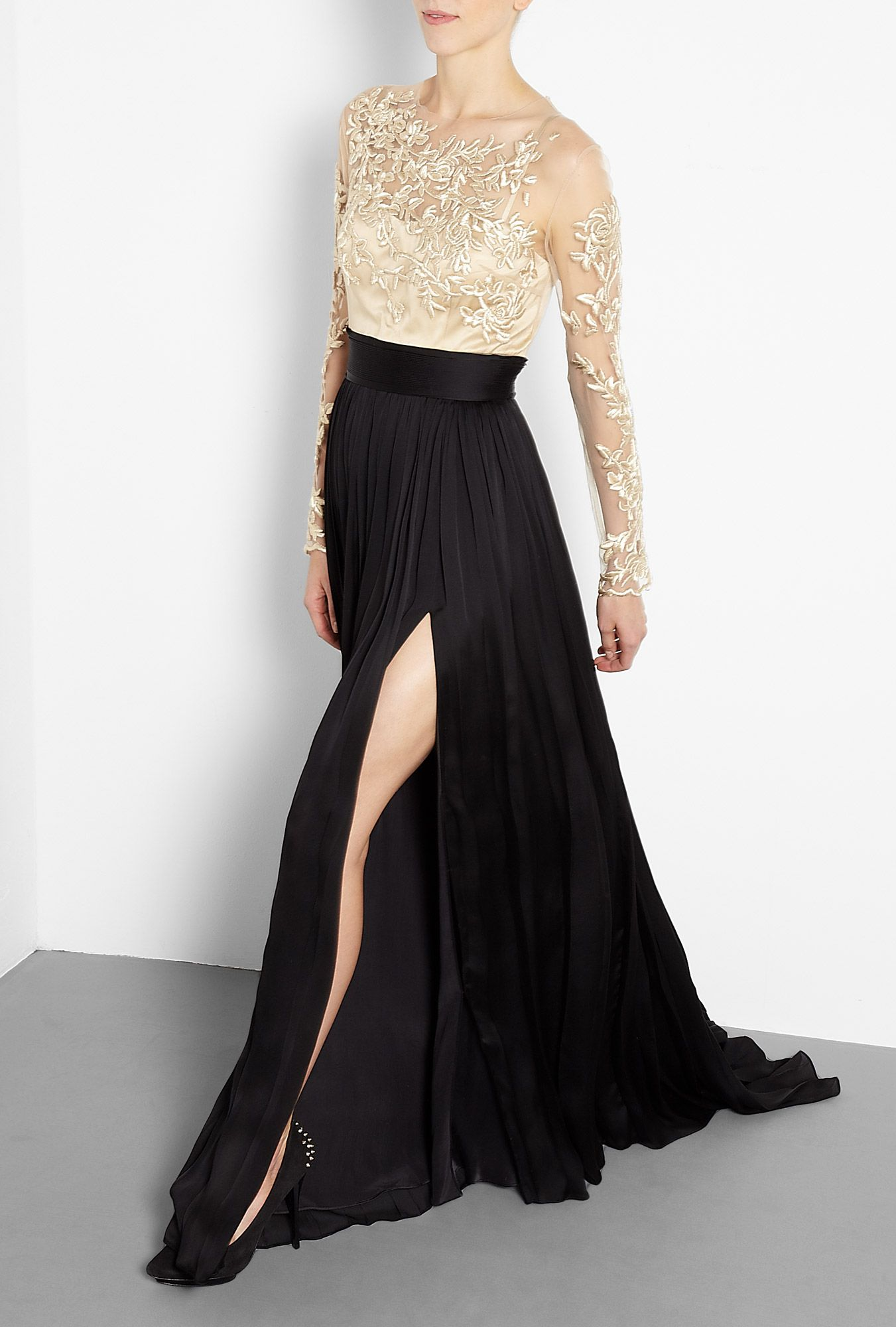 Lala Midi Dress W/ Tiered Tulle Skirt | #Fashion-ivabellini + ...