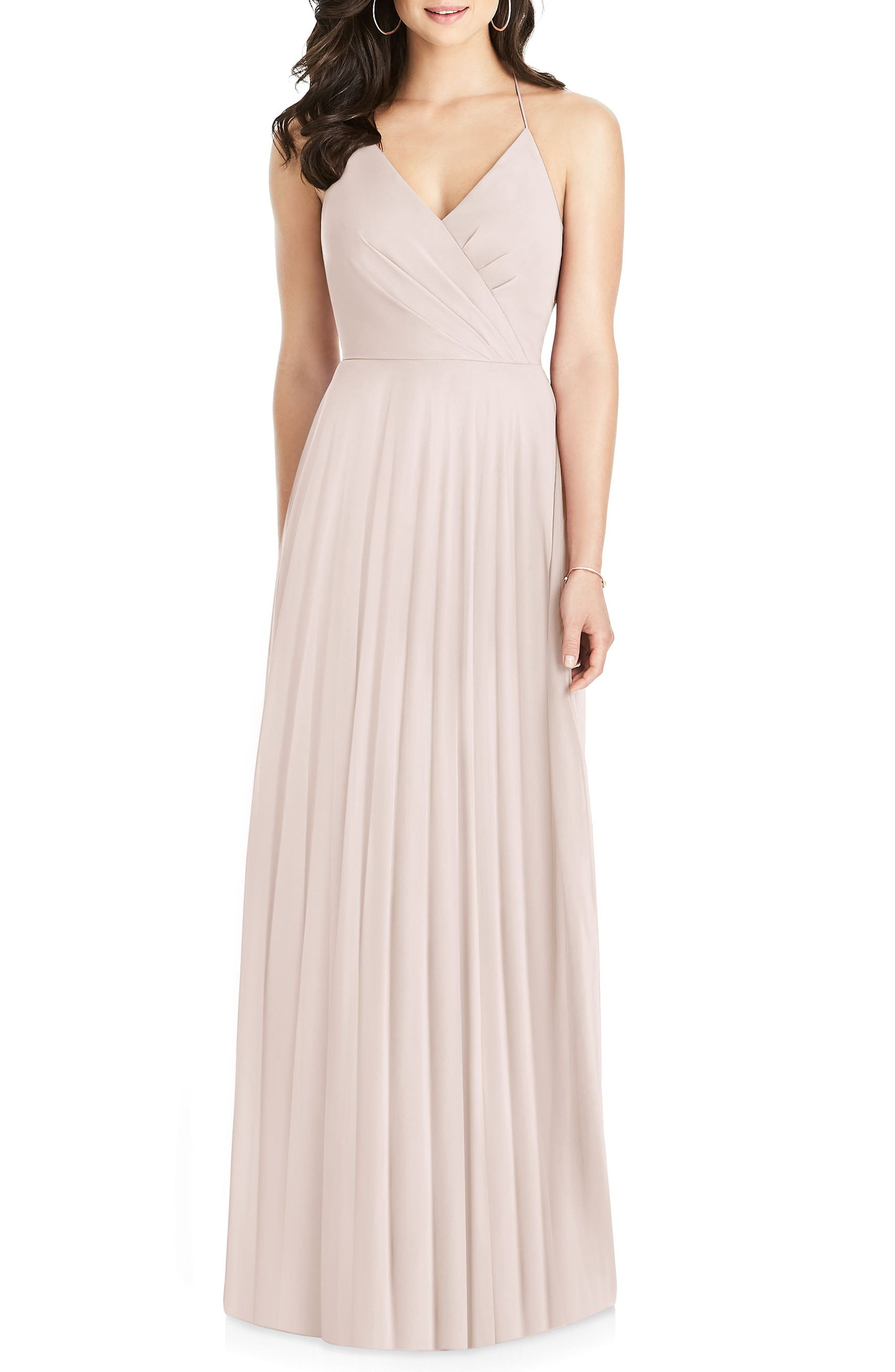 064cd20fc8 Women s Dessy Collection Ruffle Back Chiffon Gown