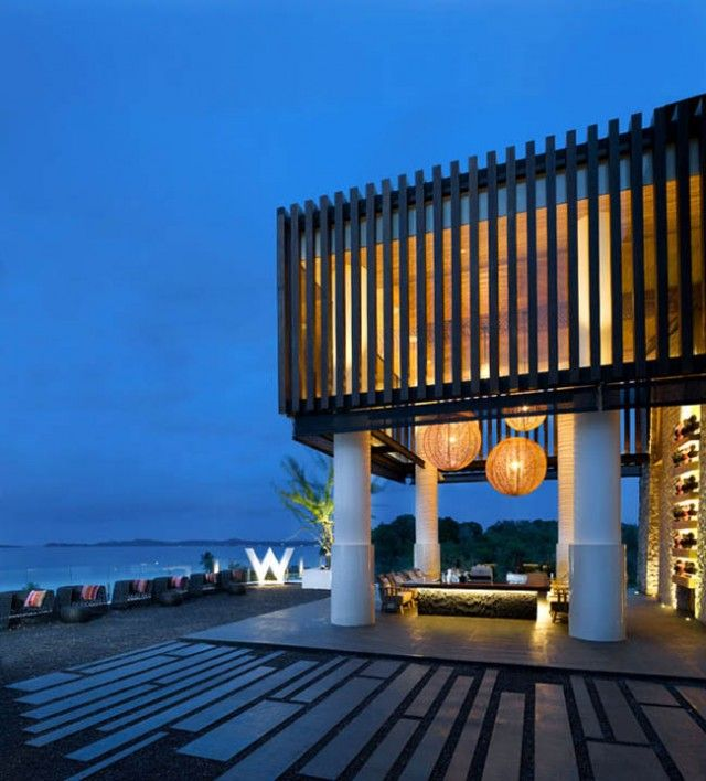 The W Hotel in Thailand.