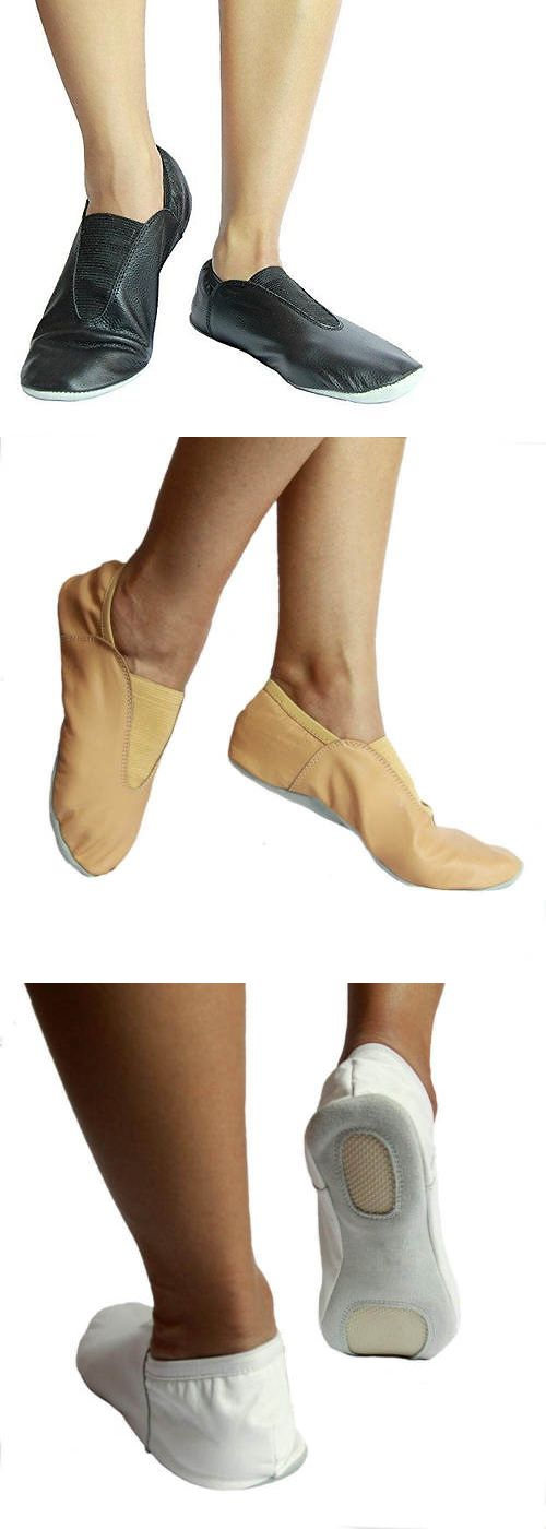 8e76a23c9856a Other Dance Shoes 153004: Danzcue Child Leather Gymnastic Shoes ...