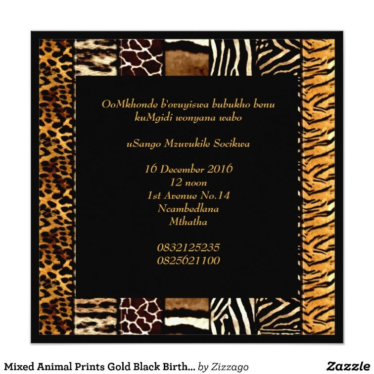 Birthday Invitations Johannesburg