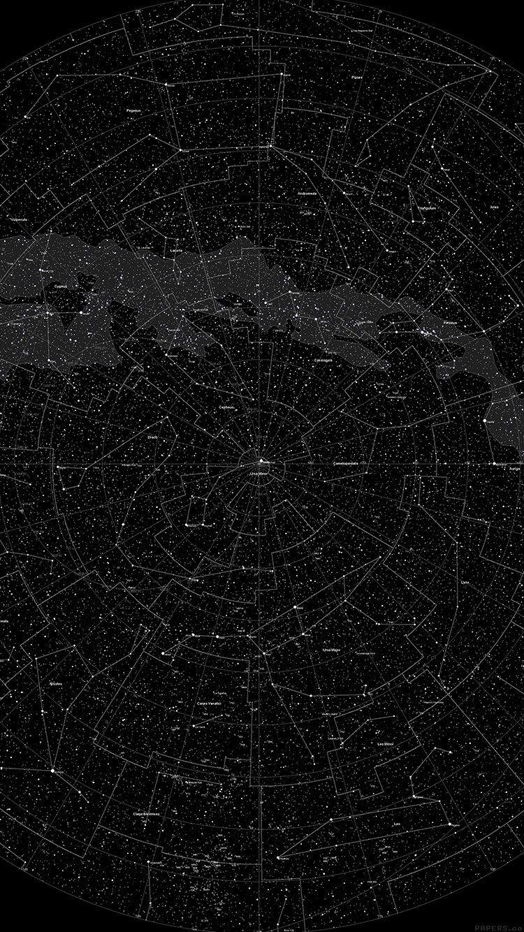 Vjspacestarmappatterndark Graphic Design Pinterest - Star map iphone
