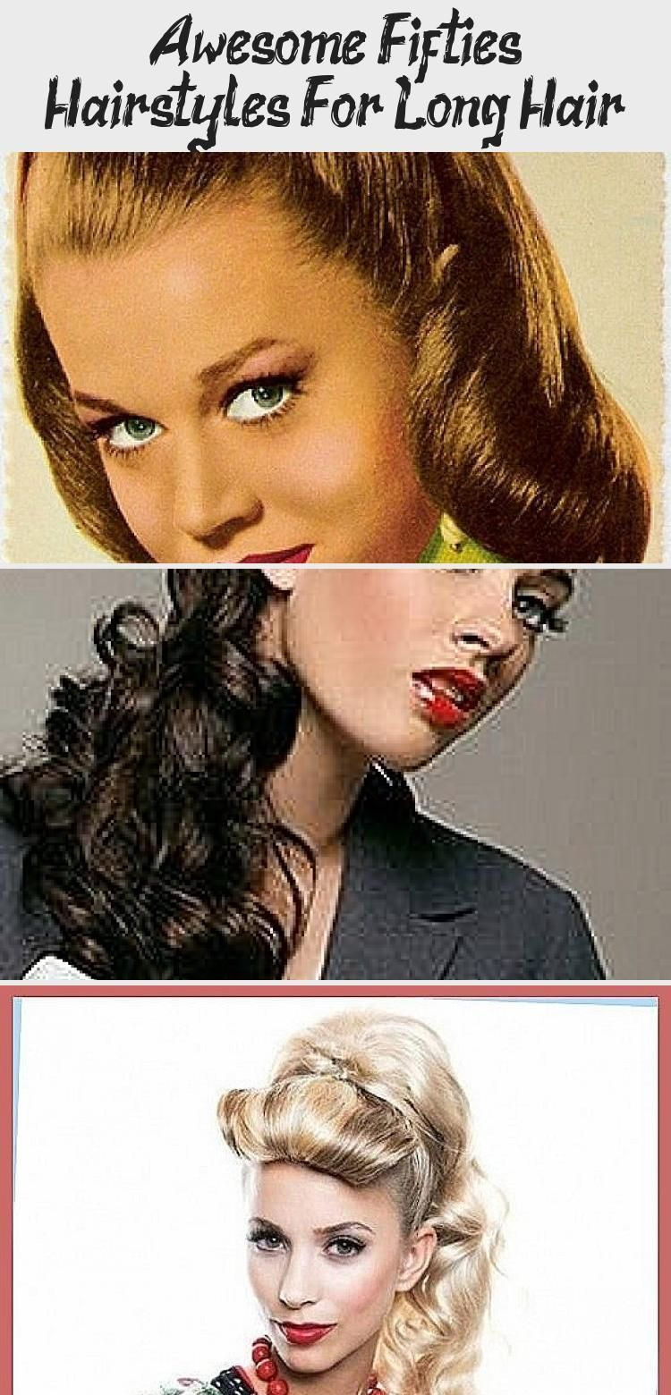 Awesome 50s Hairstyles For Long Hair Lina S Blog 50s Awesome Blog Hair Hairstyles Linas Long In 2020 Long Hair Styles Hair Styles Long Hair Styles Men