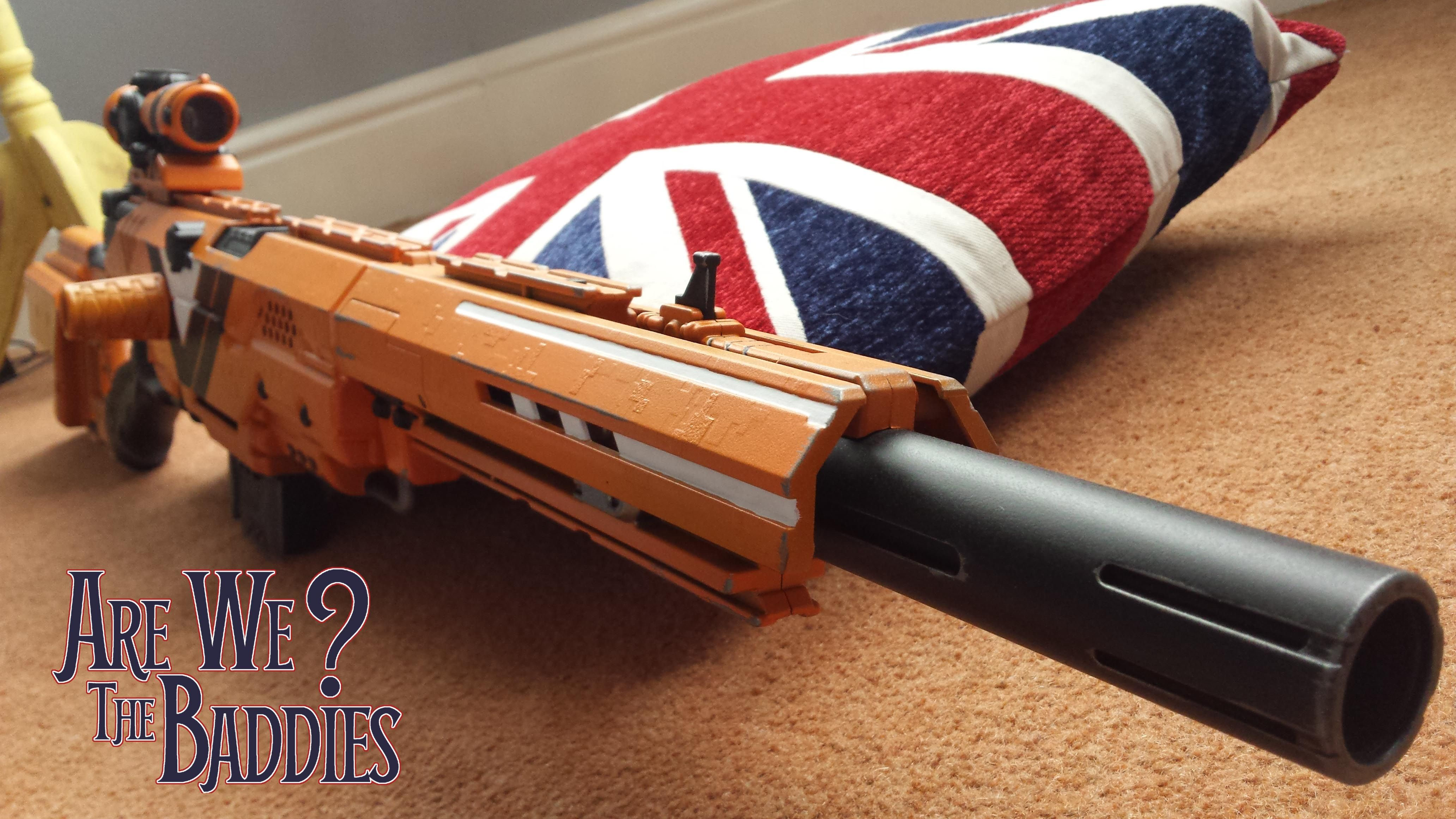 Are we the baddies - customised Nerf guns - Home