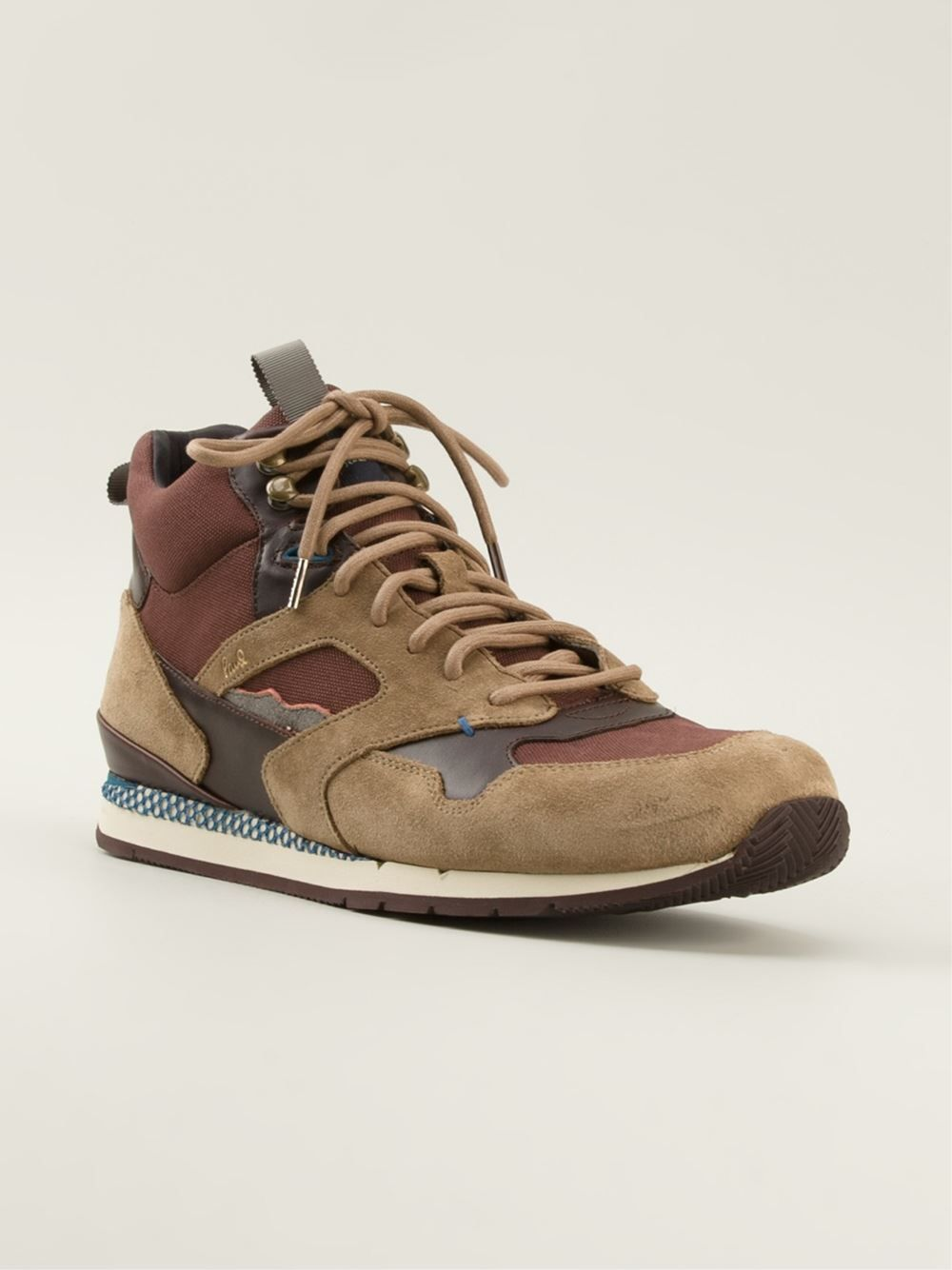 Paul Smith Jeans Hi-top Sneakers