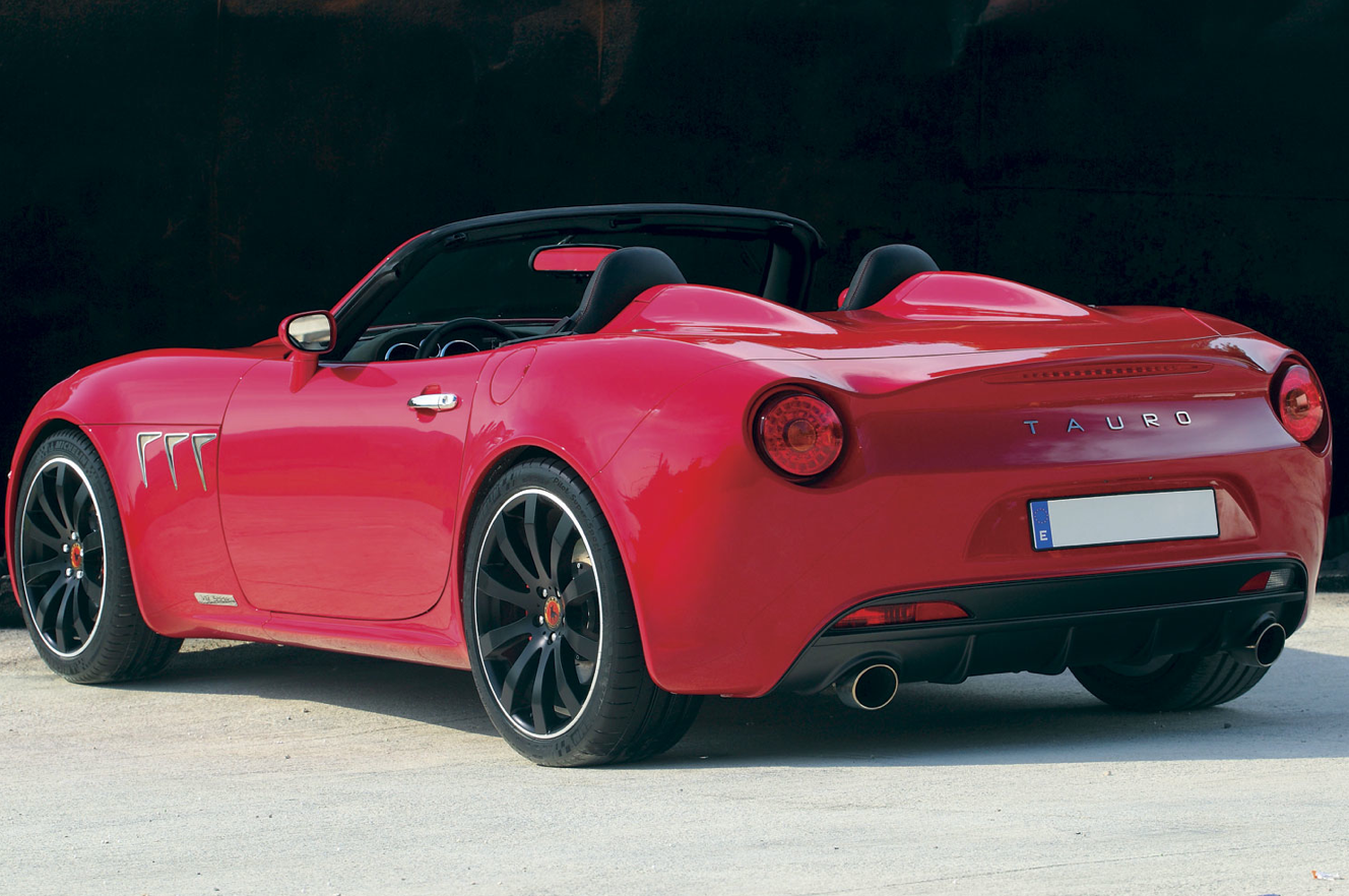 From New Spanish Automaker Tauro Sport Auto The Spyder Is A Gt