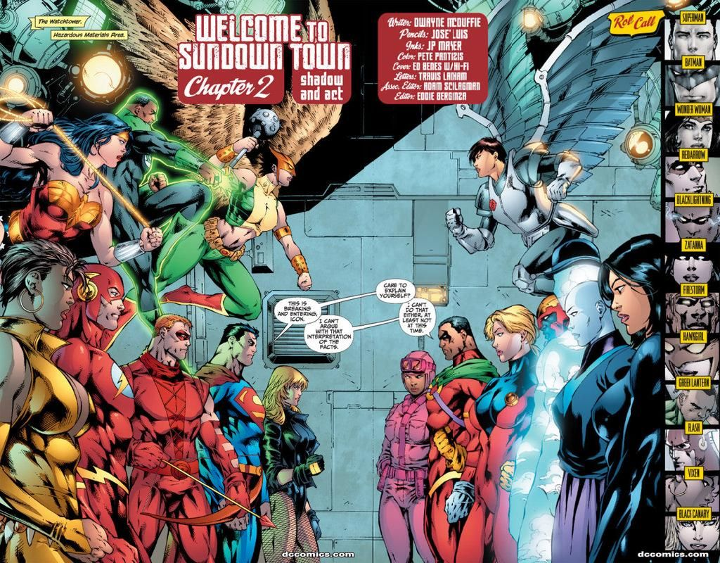 Preview From Justice League Of America 28 Justice League Comics Justice League Of America Justice League
