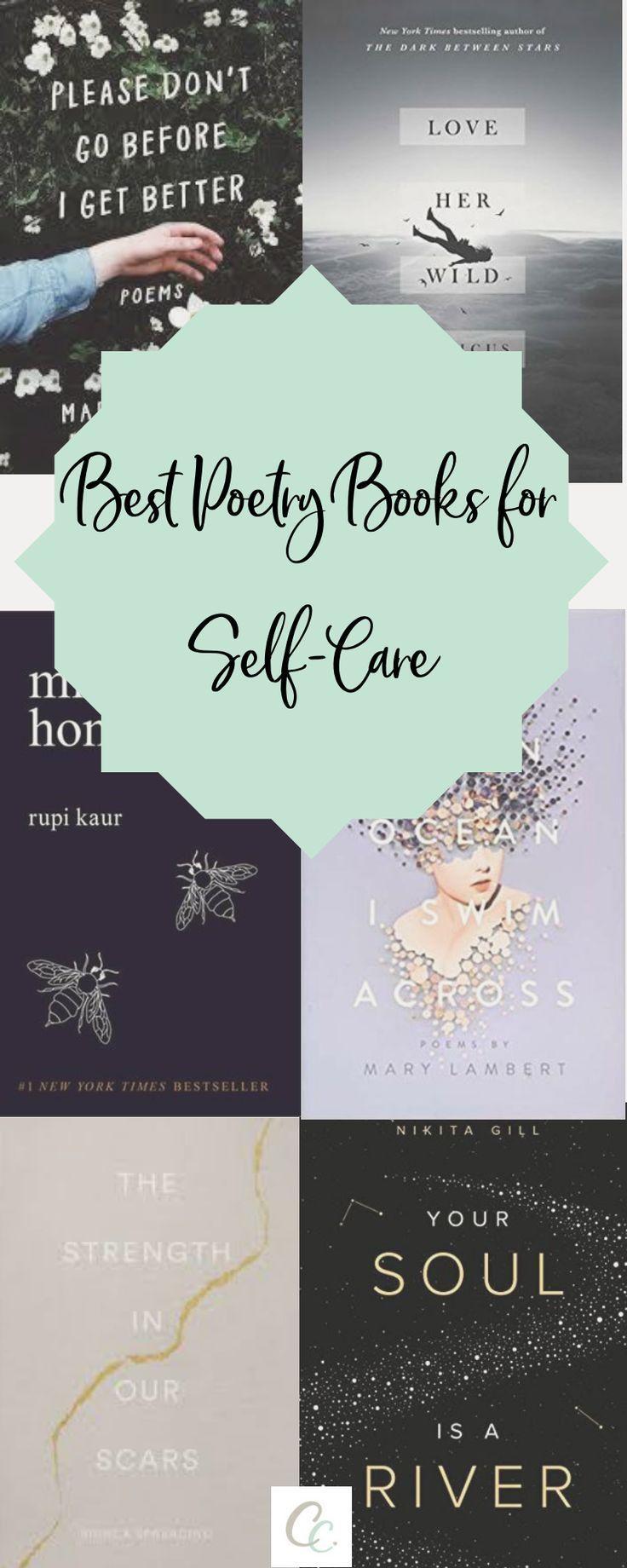 Beste Poesiebücher zur Selbstpflege   – books