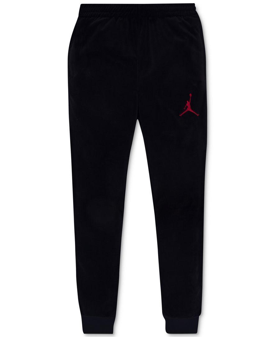 7d158162665 Jordan Velour Jogger Pants, Big Boys (8-20) | Products | Jogger ...