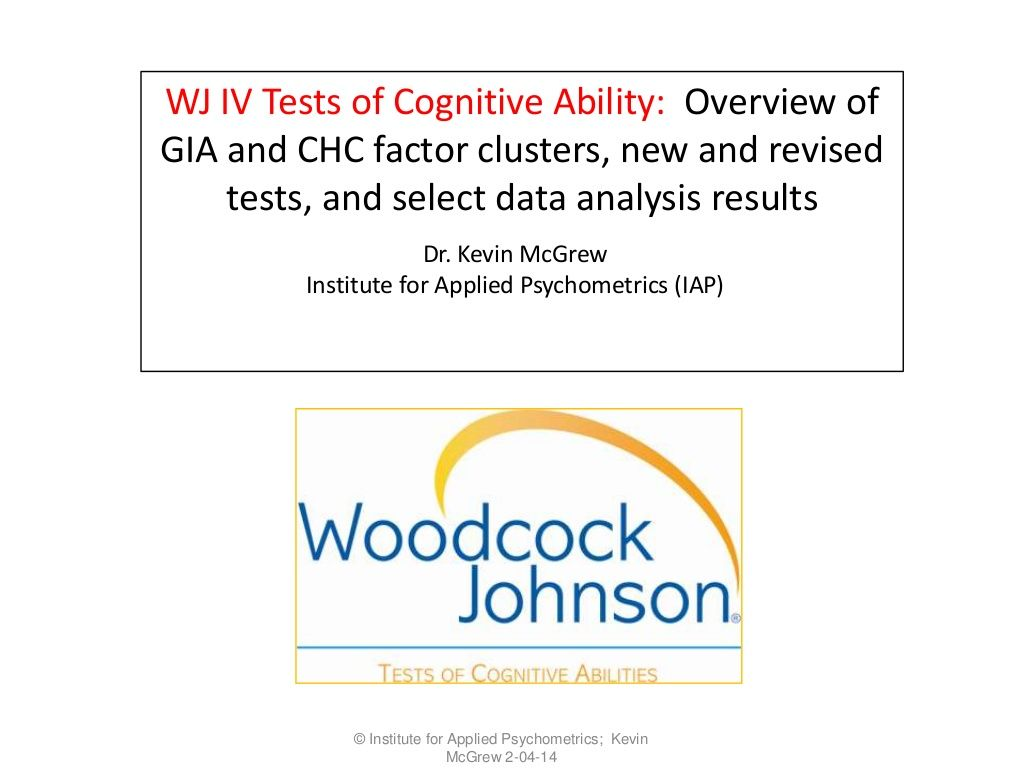 Wj iv nasp 2014 cognitive and oral language