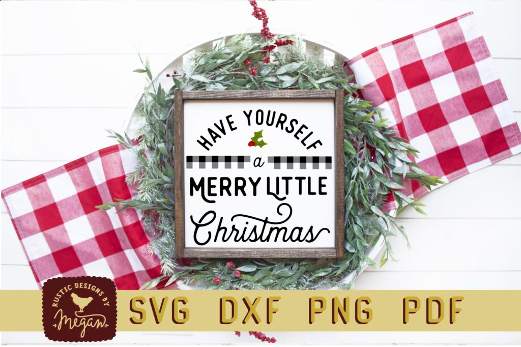 Farmhouse Christmas SVG Bundle Printableformatscolor