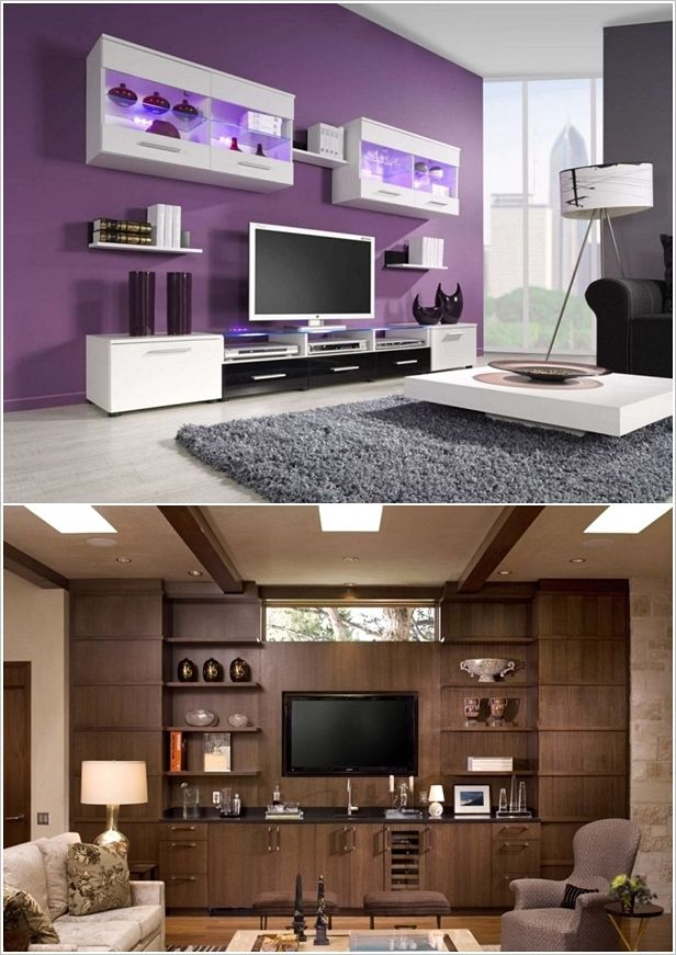 Tv Wall Decor Ideas cool tv wall. with a different wall colour most likely | house