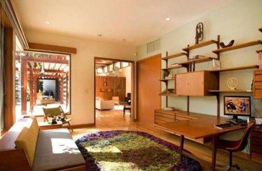 Japanese Zen home office room Design by William Hefner | For the ...