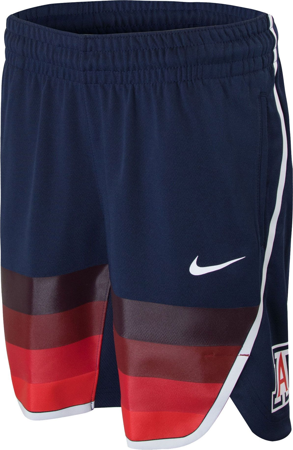 67eaf30d0d8 Nike Youth Arizona Wildcats Navy Replica Basketball Shorts, Blue