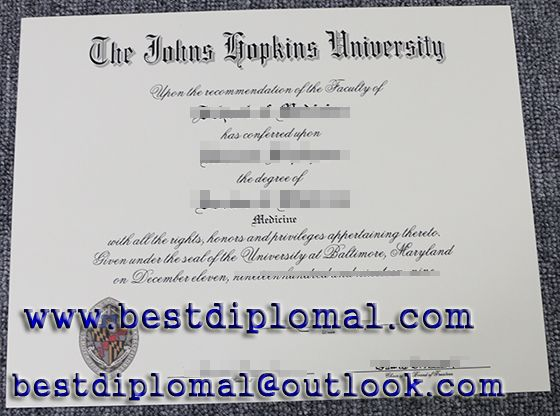 Buy a USA fake diploma, Where to buy a fake certificate of The Johns ...