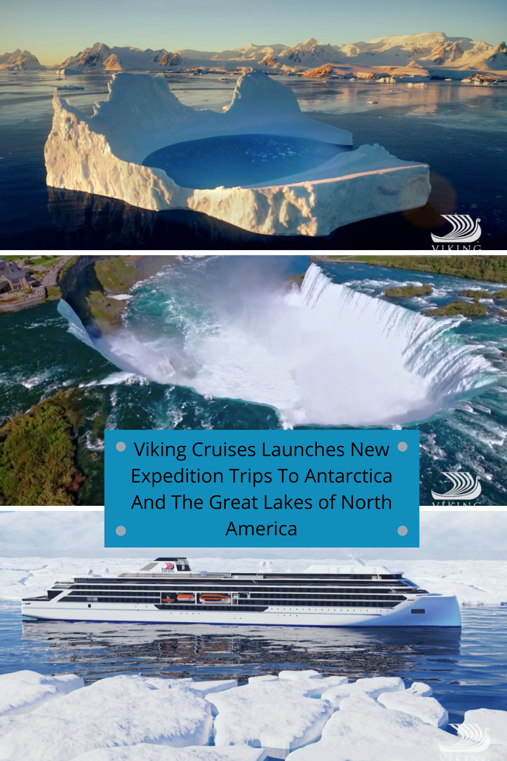 Viking Cruises Launches New Expedition Trips To Antarctica And The Great Lakes Of North America Tourist Meets Traveler Viking Cruises Viking Cruises Rivers Cruise