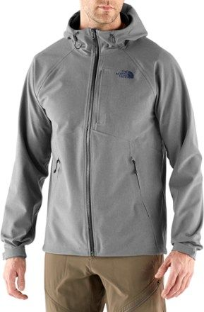 The North Face Men s Apex Flex GTX Rain Jacket Medium Grey Heather Urban  Navy XXL 457b0a8fb